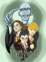Harry Potter Tribute -iPad- by anapeig