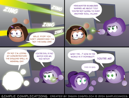 SC930 - Losing Concentration by simpleCOMICS