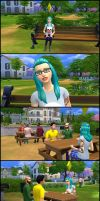 My first sims 4 screenshots by ng9