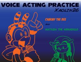 FIRST attempt at voice acting!  Charmy and Matilda by Xaolin26