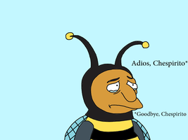 My tribute to Chespirito with Bumblebee Man by SuperMarcosLucky96