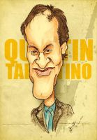 Quentin Tarantino - Caricature by libran005