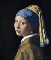 Girl with Pearl Earring Masterstudy by vtas