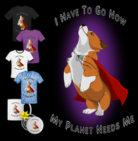 Super Corgi T-shirt Design by Crimson-Mane
