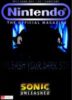 ONM Mock Cover-Sonic's Shadow by Mario64Luigi