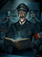 Th Nazi Occult - The Tome by wraithdt