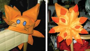 Nine tails Fox/ Naruto - Hat by Kieshar