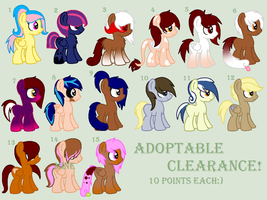 [#001] Big Adoptable Clearance. by adopty-adopts