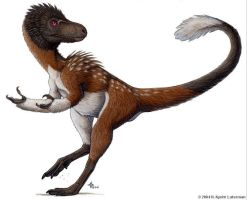 The Ancestor of T-Rex by kyoht