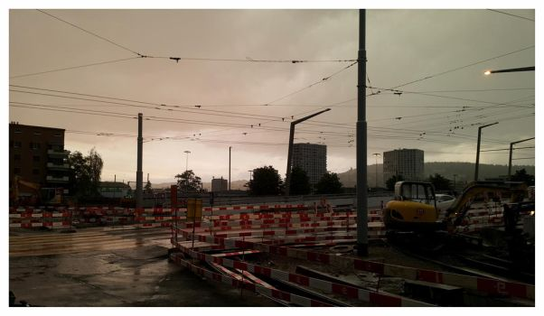Zurich finaly the rain by 13-septembre