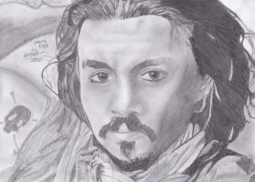 Johnny Depp by monkeynuts123
