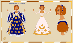 CE: Princess Lucia's New Gown by OginZ