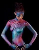 Butterfly Bodyart by LolliliciousMUA