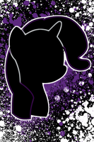 Rarity Splatter iPod/iPhone Wallpaper by AlphaMuppet