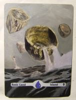 Island alter art by Abystoma