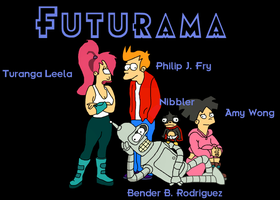 Futurama by NaughtyCal