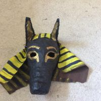 Anubis mask by articfoxice
