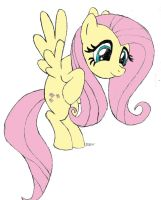 Fluttershy just wants a hug by Dash1e