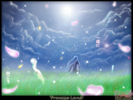 WALLPAPER+Promise Land++ by omigoshi
