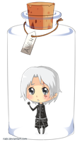 Allen bottled chibi by riabi