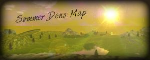 Summer Dens Map by VexerRVixen