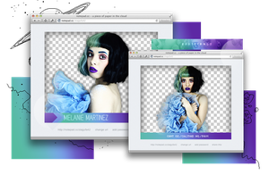 Pack png 846 // Melanie Martinez. by ExoticPngs