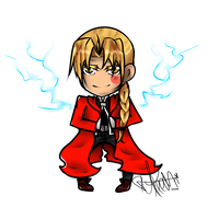 Edward elric by TinyShiro