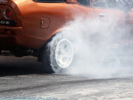 Old school burnout by J4CQU35