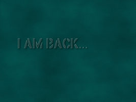 I am back.. by troikas