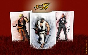 Street Fighter IV - Wallpaper by iFab