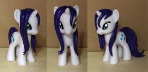 Wet mane Rarity custom by atelok