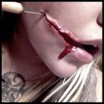 Slit Mouthed Woman by Biohazard1694