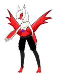 Latias Anthro by Shark-Sheep