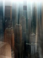 Among the sky - New York by Marcusion
