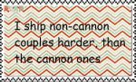 Ship non cannon harder stamp by mollymolata
