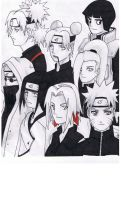 Naruto Family Left Side by solarwind06