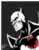 Flashpoint Batman by iKEET7