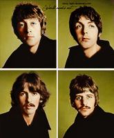 The Beatles by xSixty-3ight