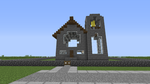 Minecraft - Church - Overall view by 1001FacesOfTheWall