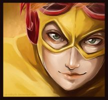 In Memoriam: Kid Flash by Ze-RoFruits