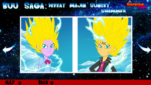 Dimension Saga Story Mode: Buu Saga Part 1 by Digital-SilverEyes