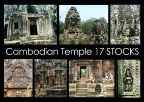 Cambodian Temple STOCK PACK by LeeStock