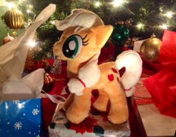Apples for Christmas! by equinepalette