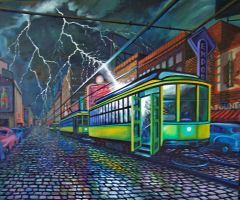DEATH OF THE STREETCARS by SvedbergStudio