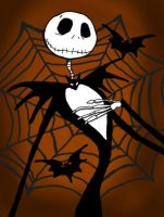Jack from the nightmare before christmas by HuskeyNinja