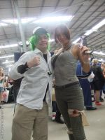Supanova 2013 - N and Lara Croft by fulldancer-alchemist