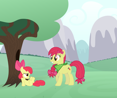 CMC Present and Future: Apple Bloom by Eli-J-Brony