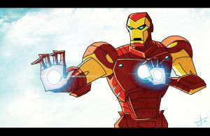EMH Iron Man lookin cool by dcjosh