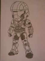 Chibi Spartan by dominicclay123