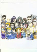 FMA Chibi Crew by Evee-Elric